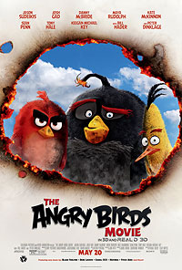 The Angry Birds movie playing in High River