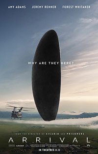 Arrival movie playing in High River