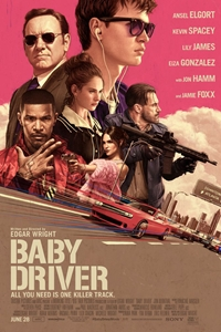 Baby Driver movie playing in High River