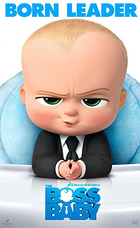 The Boss baby movie playing in High River