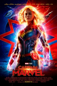 Captain MArvel movie playing at the Wales Cinema in High River