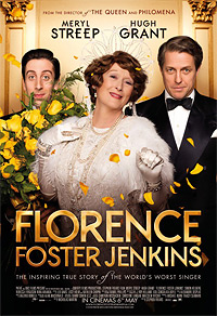 FLorence Foster Jenkins movie playing in High River