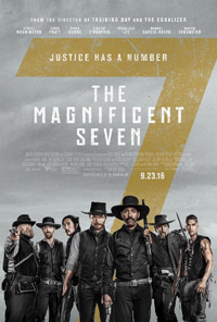 The Magnificent Seven movie playing in High River