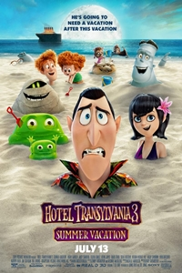 Hotel Transylvania Summer Vacation movie playing in High River