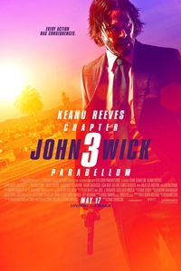 John Wick 3 movie playing at the Wales Cinema in High River